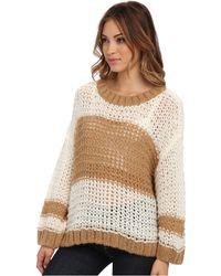 Free People Monaco Pullover Sweater - Lyst