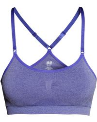 H&M Sports Bra Low Support - Lyst