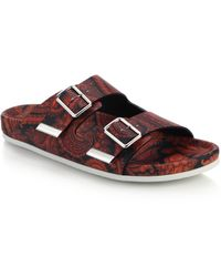 Givenchy Swiss Paisley Sandals - Lyst