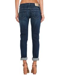 True Religion Audrey Slim - Lyst