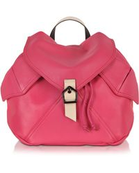 Carven - Plain Peony Leather Backpack - Lyst