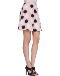 Troubadour - The Dandy Printed Skirt - Lyst
