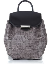 Alexander Wang Oyster Leather Prisma Backpack - Lyst