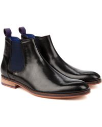 Ted Baker Leather Chelsea Boots - Lyst