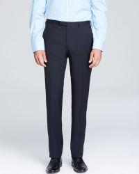 Boss Black Boss Hugo Boss Shark Textured Neat Trousers  Classic Fit - Lyst