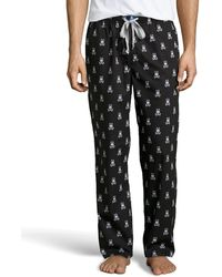Psycho Bunny Logo Cotton Lounge Pants - Lyst