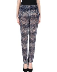 Isabel Marant Casual Trouser blue - Lyst