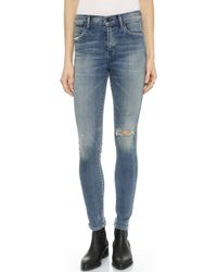 Citizens Of Humanity Rocket High Rise Skinny Jeans - Stage Coach - Lyst