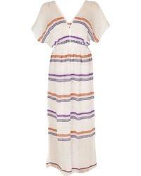 Lemlem Patio Dress multicolor - Lyst