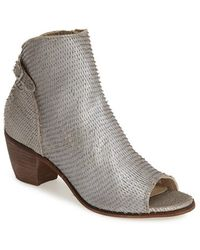 Matisse 'Folk' Open Toe Ankle Boot - Lyst