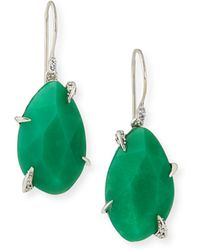 Alexis Bittar Fine - Chrysoprase Drop Earrings - Lyst