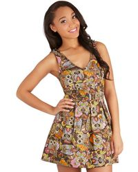 Folter Inc - Delighted All Day Romper in Owls - Lyst