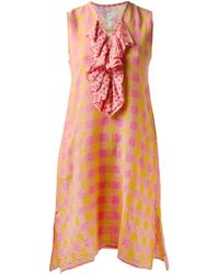 Dosa Pink Kathy Dress - Lyst