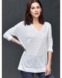 Gap | Scoop Neck Stripe Tunic | Lyst