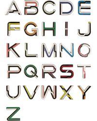 Proenza Schouler - Alphabet Enameled Brooches - Lyst