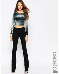 Asos Tall Baby Kick Flare Jeans - Lyst