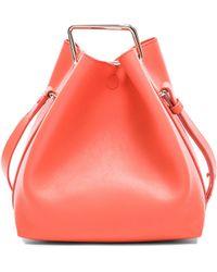 3.1 Phillip Lim Mini Quill Bucket Bag orange - Lyst