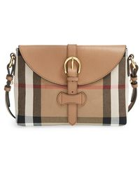 Burberry 'Horseshoe Milton' Crossbody Bag - Lyst
