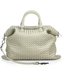 Bottega Veneta Intrecciato Medium Convertible Tote - Lyst