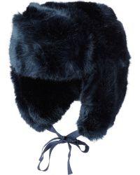 Imposter - Faux Fur Trapper Hat - Lyst