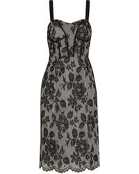Jill Stuart Kasey Lace-appliqué Tulle Dress - Lyst