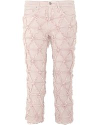 Isabel Marant Wild Origami Frayed Mid-Rise Skinny Jeans - Lyst