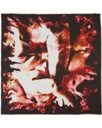 Teatum Jones - Red Ujarak Viscose-Blend Scarf - Lyst