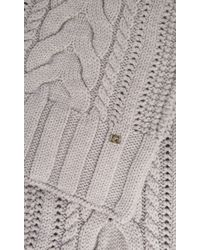 Temperley London - Chunky Cable Scarf - Lyst