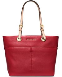 MICHAEL Michael Kors Bedford Leather Tote - Lyst