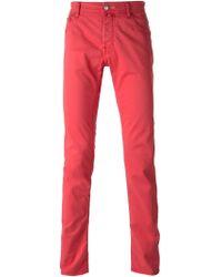 Jacob Cohen Straight Fit Jeans - Lyst