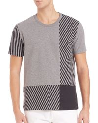 Burberry Brit | Franklin Check Tee | Lyst
