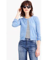 J.Crew Tilly Cardigan Sweater blue - Lyst