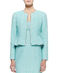 Nanette Lepore Crazy For You Zip Front Jacket - Lyst
