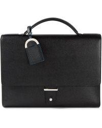 BVLGARI Flap Briefcase - Lyst