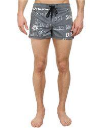 Diesel Coralrif-S Shorts Daik black - Lyst