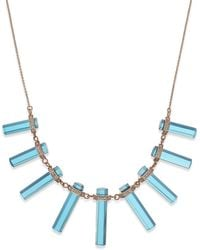 House Of Harlow Stone Bar Frontal Necklace - Lyst