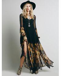 Free People Dazed Dream Maxi Dress - Lyst