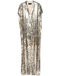 By Malene Birger Kiwina Sequin Dress gold - Lyst
