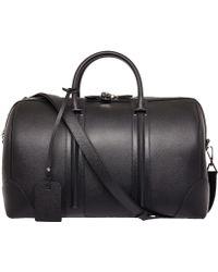 Givenchy - Black Leather Gym Bag - Lyst