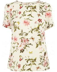 Oasis Beautiful Floral Tshirt - Lyst