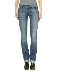Mother Holy Rascal Straight Leg Jeans - Still Behind The Hustle - Lyst