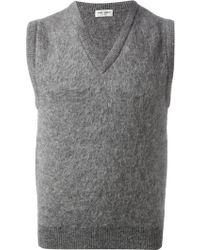 Saint Laurent Classic Tank Top - Lyst