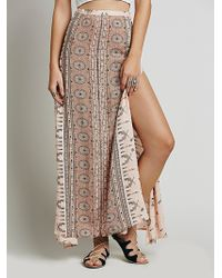 Spell & The Gypsy Collective Coyote Split Maxi Skirt - Lyst