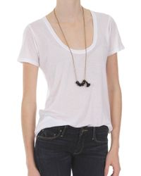 The Lady & The Sailor Basic Tee - Lyst