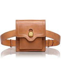 Tory Burch Leather Belt Bag - Lyst