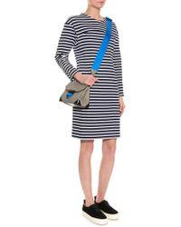 MUVEIL - Striped Cotton-Knit Dress - Lyst
