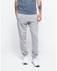 Carhartt Wip College Sweat Pant gray - Lyst