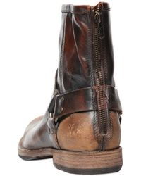 Frye - Phillip Harness Sanded Leather Boots - Lyst