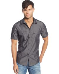 Inc International Concepts Gray Derek Shirt - Lyst