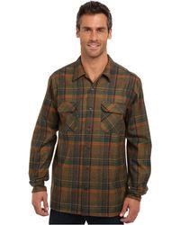 Pendleton Ls Board Shirt Tall - Lyst